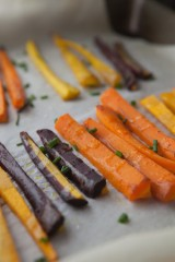 Roasted Carrots and Butternut Squash