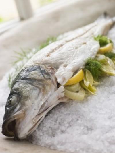 Salted Sea Bass
