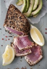 Seared Peppercorn Encrusted Tuna