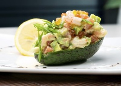 Shrimp Salad and Avocado