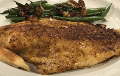 Easy Blackened Pan Seared Red Snapper
