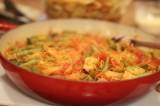 Paleo Spaghetti Squash Primavera