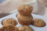 Sun Butter and Macadamia Muffins