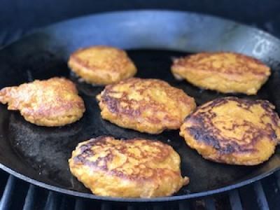 Spicy Sweet Potato Cakes