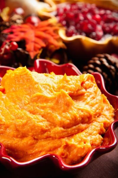 Maple Sweet Potato Mash