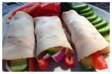 Veggie Filled Turkey Roll-ups