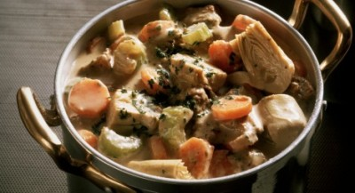 Veal Stew with Artichokes