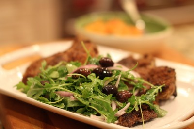 Veal Chop Milanese