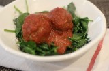 Veal, Spinach and Fresh Herbs Meatballs