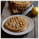 Paleo Lemon Almond Waffle