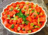 Watermelon Mint Salad