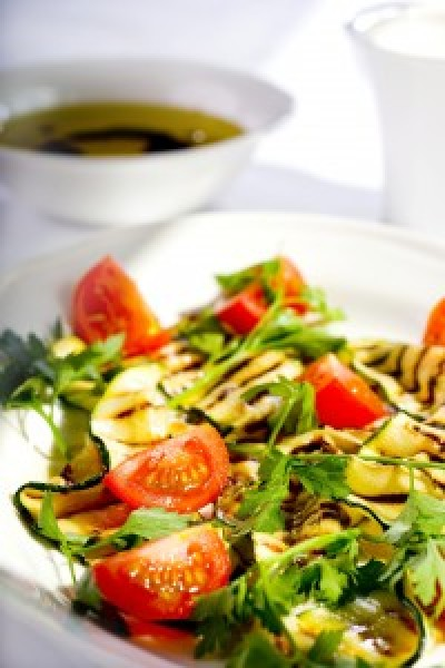 Zucchini, Tomato and Parsley