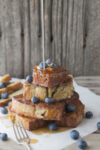 Zucchini Bread French Toast